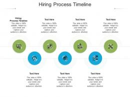 Hiring Process Timeline Ppt Powerpoint Presentation Ideas Example Cpb