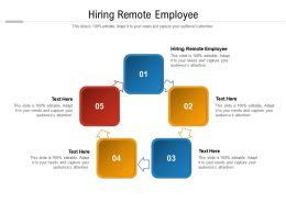 Hiring Remote Employee Ppt Powerpoint Presentation Icon Slide Portrait Cpb
