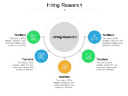 Hiring Research Ppt Powerpoint Presentation Diagrams Cpb