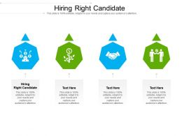 Hiring Right Candidate Ppt Powerpoint Presentationmodel Brochure Cpb