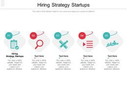 Hiring Strategy Startups Ppt Powerpoint Presentation Infographic Template Icon Cpb
