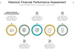 Historical Financial Performance Assessment Ppt Powerpoint Presentation Ideas Samples Cpb