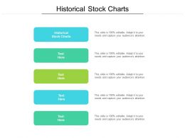Historical Stock Charts Ppt Powerpoint Presentation Pictures Diagrams Cpb