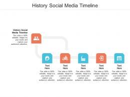 History Social Media Timeline Ppt Powerpoint Presentation Summary Show Cpb