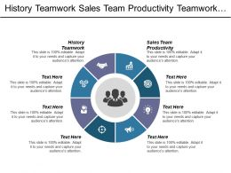 History Teamwork Sales Team Productivity Teamwork Marketing Teamwork Cpb