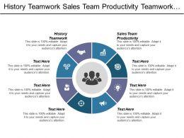 History Teamwork Sales Team Productivity Teamwork Marketing Teamwork Cpb
