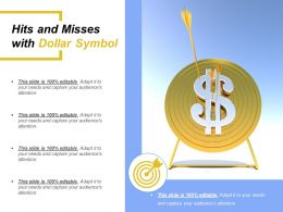 Hits And Misses With Dollar Symbol