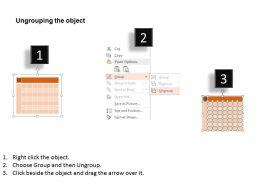 Hm Twelve Months Calendar For Planning Flat Powerpoint Design