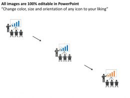 Ho Team With Manager Result Analysis Flat Powerpoint Design
