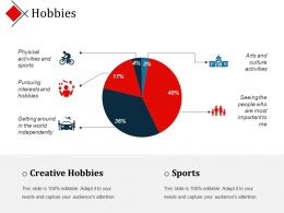 Hobbies Ppt Design