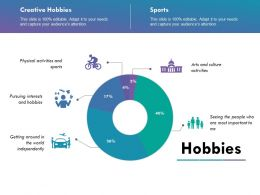 Hobbies Ppt Slide Templates Powerpoint Shapes