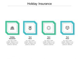 Holiday Insurance Ppt Powerpoint Presentation Infographics Sample Cpb