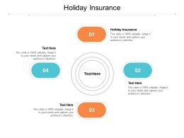Holiday Insurance Ppt Powerpoint Presentation Show Slide Download Cpb