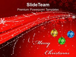 Holidays Images Of Jesus Red Christmas Background Powerpoint Templates Ppt Backgrounds For Slides
