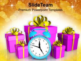 Holidays Merry Christmas Gifts Festival Powerpoint Templates And Themes