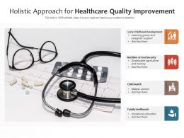 Holistic Approach For Healthcare Quality Improvement