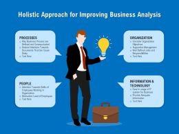 Holistic Approach For Improving Business Analysis