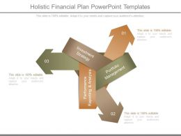 Holistic Financial Plan Powerpoint Templates