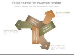 Holistic Financial Plan Powerpoint Templates