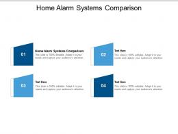 Home Alarm Systems Comparison Ppt Powerpoint Presentation Portfolio Slides Cpb