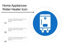 Home Appliances Water Heater Icon