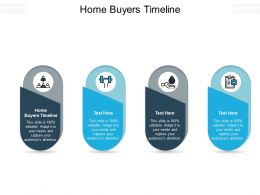 Home Buyers Timeline Ppt Powerpoint Presentation File Ideas Cpb