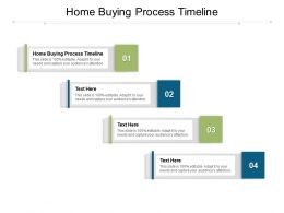Home Buying Process Timeline Ppt Powerpoint Summary Graphics Cpb