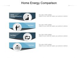 Home Energy Comparison Ppt Powerpoint Presentation Infographic Template Graphics Cpb