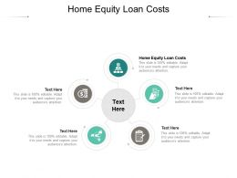 Home Equity Loan Costs Ppt Powerpoint Presentation Ideas Deck Cpb