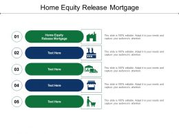 Home Equity Release Mortgage Ppt Powerpoint Presentation Show Gallery Cpb