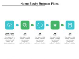 Home Equity Release Plans Ppt Powerpoint Presentation Inspiration Templates Cpb