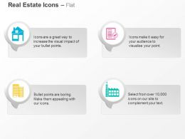 Home Factory Property Papers Apartments Ppt Icons Graphics