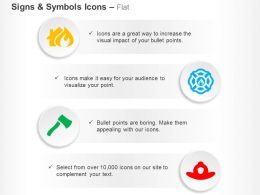 home_fire_safety_water_harvesting_axe_cap_ppt_icons_graphics_Slide01