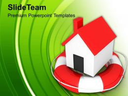 Home In Lifesaver Powerpoint Templates Ppt Themes And Graphics