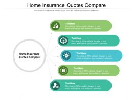 Home Insurance Quotes Compare Ppt Powerpoint Presentation Ideas Templates Cpb