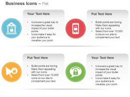Home Lock Mobile Lock Pointer Business Safety Ppt Icons Graphics