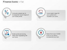 home_mortgage_college_savings_plans_profit_yen_coin_ppt_icons_graphics_Slide01