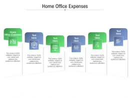 Home Office Expenses Ppt Powerpoint Presentation Icon Layouts Cpb