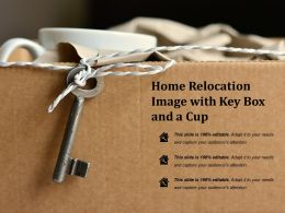 Home Relocation Image With Key Box And A Cup