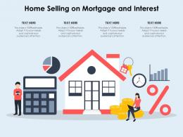 Home Selling On Mortgage And Interest