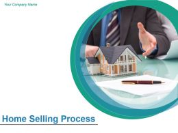 Home Selling Process Powerpoint Presentation Slides