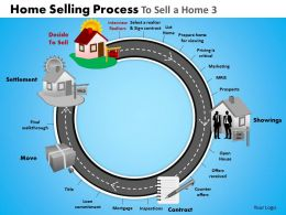 Home Selling Process To Sell A Home 3 Powerpoint Slides And Ppt Templates DB