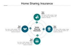 Home Sharing Insurance Ppt Powerpoint Presentation Pictures Inspiration Cpb