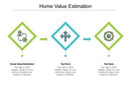 Home Value Estimation Ppt Powerpoint Presentation Portfolio Layout Ideas Cpb