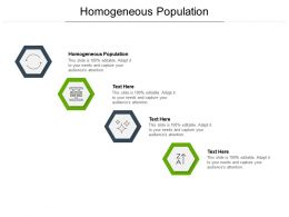 Homogeneous Population Ppt Powerpoint Presentation Styles Deck Cpb
