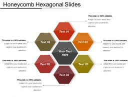 Honeycomb Hexagonal Slides Ppt Sample Download