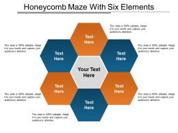 Honeycomb Maze With Six Elements