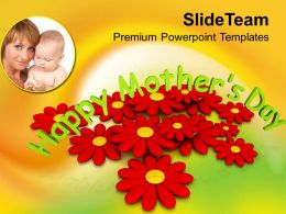 Honour Your Moms On Mothers Day PowerPoint Templates PPT Themes And Graphics 0513