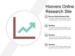 Hoovers Online Research Site Ppt Powerpoint Presentation Gallery Infographic Template Cpb