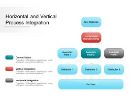 Horizontal And Vertical Process Integration